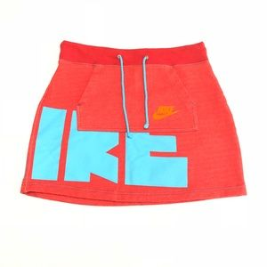 Nike Spell Out Retro Pull-On Skirt 90s Style XS/S